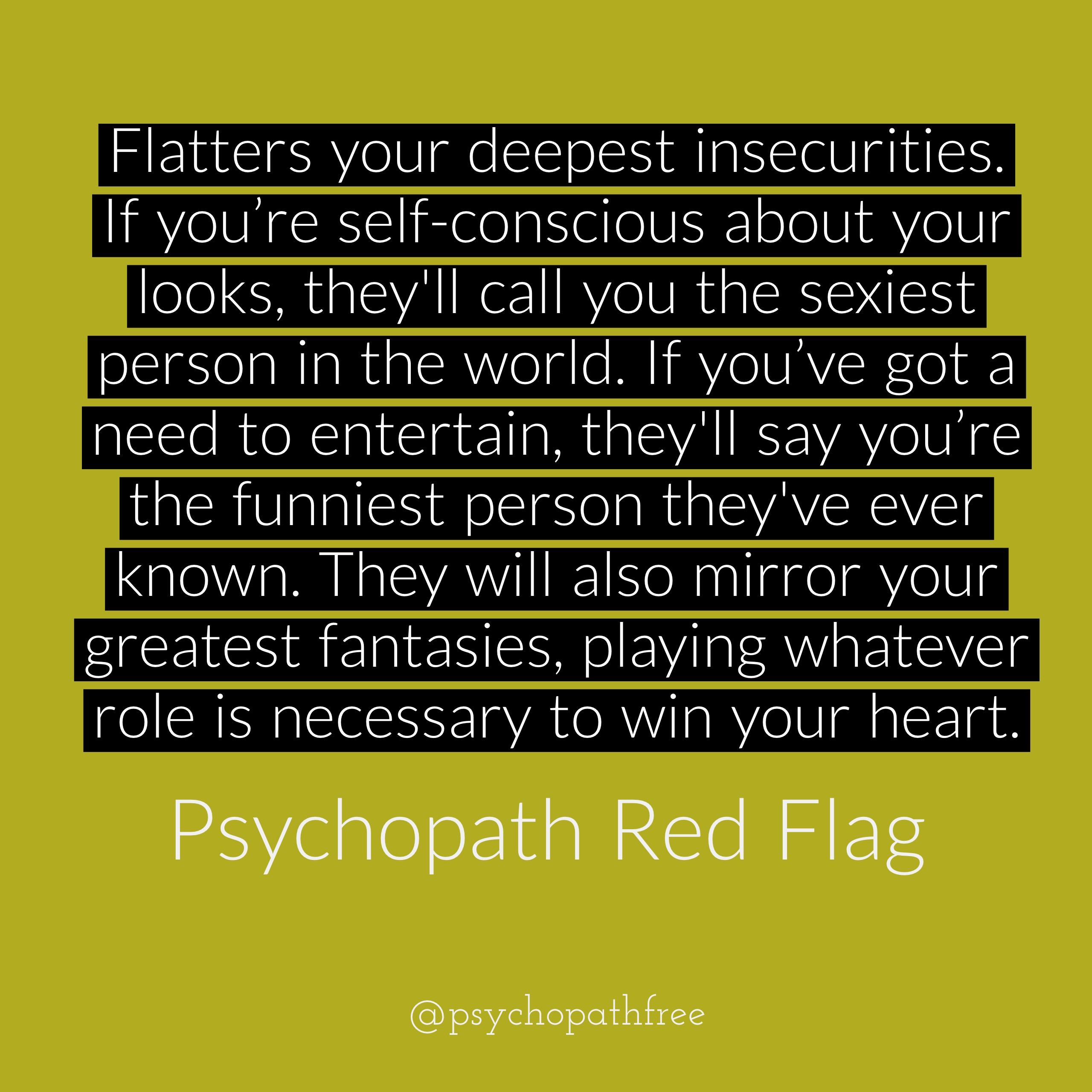 Red flags youre dating a narcissist